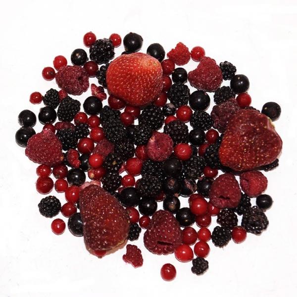Mezcla de frutas del bosque Congelada